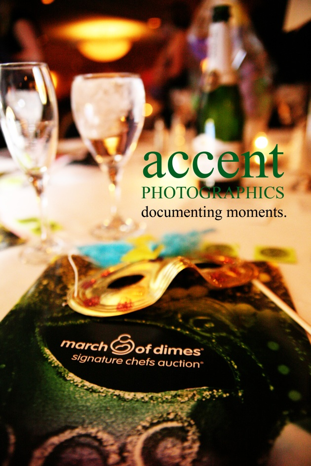 The event program - inside photos by Accent Photographics