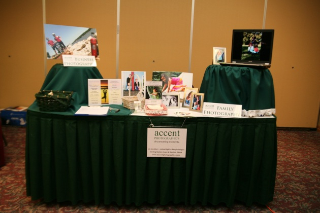 Accent Photographics' booth