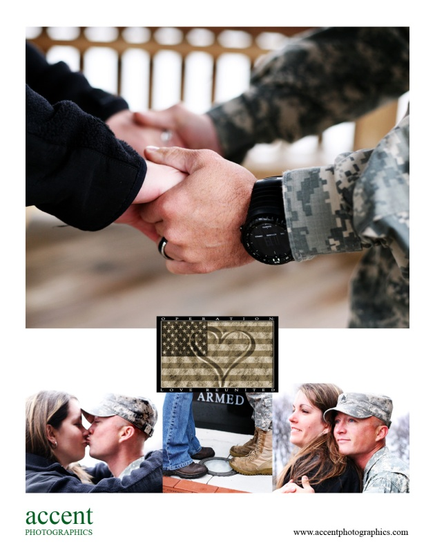Sgt. Jay Wilhelm and wife, Rhonda