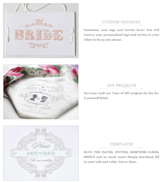 customizing project templates - wedding wednesday free custom designs iowa city