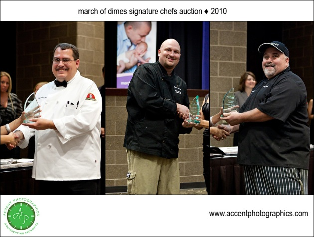 top chefs honored